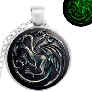 collier dragon, pendentif dragon, statuette dragon, figurine dragon, GAME OF THRONES, collier game of thrones, dragon
