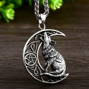 collier loup, collier viking