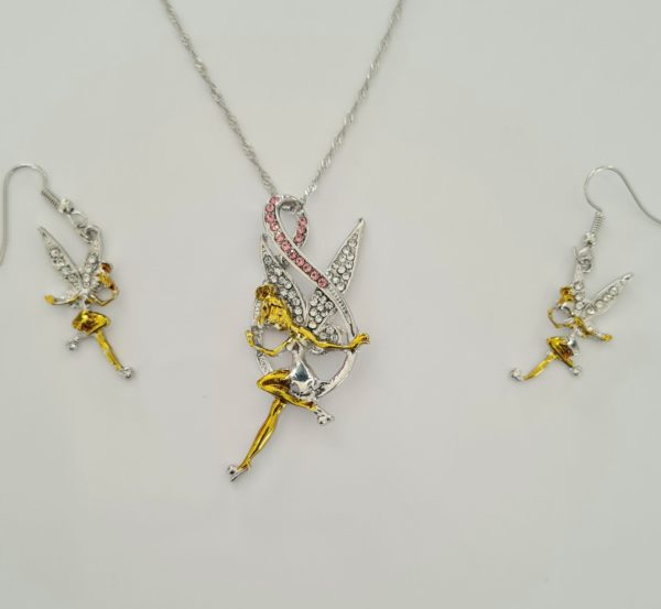 collier fee, collier fee clochette, boucles d'oreilles fee clochette, fée clochettes, statuette fee, figurine fée, pendentif fee, fee argent, fée, figurine fee, statuette fée, fairy, fée, bijoux fee, bijou fee